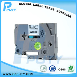Wholesale Wholesale Label Printers - Hot selling compatible TZe-231 TZ-231 Black on White 12mm label tapes for label printer