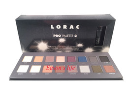 Wholesale New LORAC eyeshadow makeup Generation lorac PRO palette color eye shadow palette with eye primer makeup set