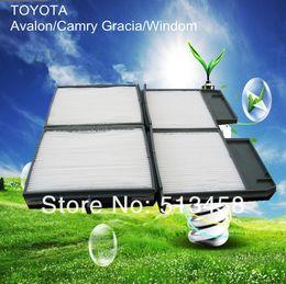 Wholesale Toyota Cabin Air Filters - AC1507 low price wholesale white fiber car cabin air filter for Toyota 8888033040 auto part 25.3*13.9*1.9CM C25450 A3
