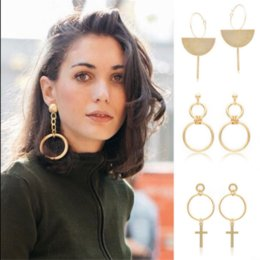 Wholesale classic gypsy - Women Gypsy Tribal Classics Gold Plated Boho Long Tassel Drop Dangle Earrings Personality Jewelry Accessories Gifts