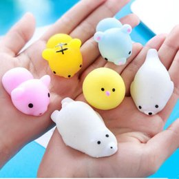 Wholesale Toy Splat Balls - 2018 hot sale fashion Creative gift toy splat ball decompression vent pressure squeezed splat for amusement