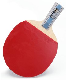 Wholesale Dhs Table Tennis Paddles - Ping Pong Table Tennis DHS 6006 Rackets Paddle Bat 6 Star Pen Hold Short Handle