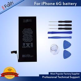 Bateria surpreender on-line-Incrível qualidade interna bateria de substituição bateria de alta qualidade para iphone 6s / 6 frete grátis