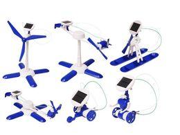 Nouveau 3 Gen 6 en 1 BRICOLAGE Robot Solaire Jouet mignon kitl Assemblée gadget jouets classiques intelligence jouets bricolage cadeau ? partir de fabricateur
