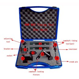 Wholesale Bmw Timing Kit - Patant Product 9 PCS FOR BMW M60 M62 M62TU V8 Camshaft Locking Vanos Timing Tool Kit