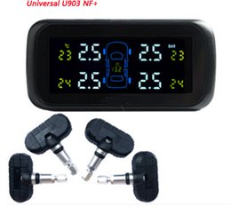 Wholesale Tire Monitor Gauge - Universal TPMS U903NF+ with 4 pcs internal sensors,Color display screen( Battery Replaceable),TPMS,Car tire pressure monitoring system