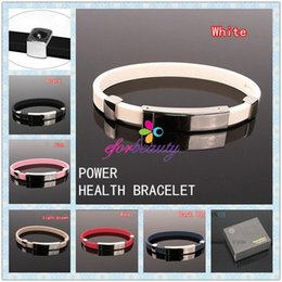 Wholesale Titanium Ionic Sports Bracelet Wholesale - Power Titanium Ionic Magnetic Bracelet Power Energy And Balance Portable Hot Selling Easy To Carry 200pcs