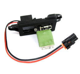 Wholesale Auto Cadillac - New HVAC Blower Motor Resistor fit for Chevy GMC Cadillac W O Auto Temp Control 15305077   89018308   89018596   89019088