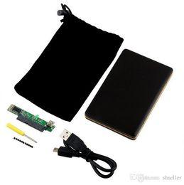 """пластиковый футляр для жесткого диска Скидка 1 шт2.5"""" с интерфейсом USB 2.0 SATA жесткий диск случай HDD корпус бесплатная доставка А5"""