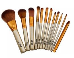 Wholesale Wood Tool Set - Hot Naked 3 Professional 12 PCS Makeup brush Cosmetic Facial Make-up Brush Tools Makeup Brushes Set Kit With Retail Box