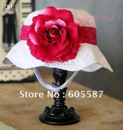 Wholesale Doomagic Sun Hats - Free shipping 3pcs lot New Arrival !! (6 designs) doomagic girls summer hats   baby flower sun hat