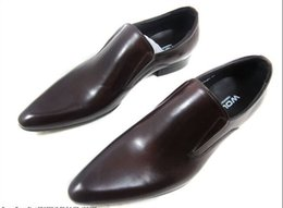 Wholesale New Style Shoes For Mens - new hot sale Mens Office Pointed Toe Shoes Formal Business Leather Shoes For Mens Wedding Fashion Style