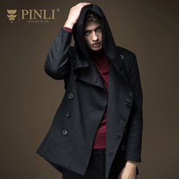 Wholesale Grow Products - Wholesale- 2017 Direct Selling New Mens Overcoat Long Coat Men Pinli Product Made And Paragraph Dust Coat Grows In Men's Wear S16336203