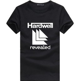 Wholesale green t house - Wholesale-HARDWELL T Shirts Men DANCE HOUSE MUSIC PARTY Cotton O Neck Man T-Shirt Hip Hop Mens tshirt Euro Size Tops Shirt Free Shipping