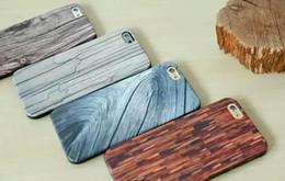 cas de téléphone remax Promotion Remax Wood Series Case pour iPhone 6 4.7 pouces 5.5 pouces ultra-mince TPU Couverture arrière personnalité personnalité innovation protection téléphone