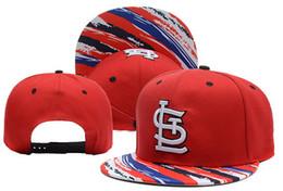Wholesale Top Womens Snapbacks - Red Cardinals Snapbacks 2015 Latest Baseballl Caps Hats Top Quality Brim Hats Mens Womens Ball Caps Flat Snapback Hat Adjustable Cap