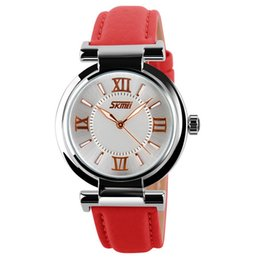 Wholesale Ladies Waterproof Sport Watches - Waterproof Ladies Watches Luxury Style Stainless Steel Watches for Party Best Womens Wristwatches Pin Buckle for 9075-33