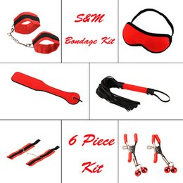 Wholesale Adult Pleasure Toys - Passionate Flirt Pleasure Game Toys 6 Piece Kit ( 6 in 1 ), Erotic Sex Furniture Sex Toys Adult Sex Products q1106