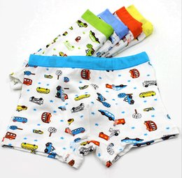 Wholesale Children S Panties - 2015 Summer Boys Underwear Panties Modal Fabric Cars Pattern Baby Boys Boxer Underpants Kids Briefs Underwears Children Clothing 10pcs lot