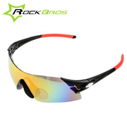Wholesale Rockbros Polarized Sunglasses - Wholesale-ROCKBROS Sports Polarized Cycling Glasses Vintage Rimless Sunglasses Women Men Bike Bicycle Sun Glasses Occhiali Ciclismo 2015