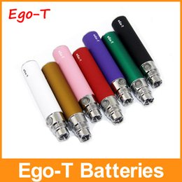 Wholesale Gs Ce5 - In Stock Ego-T Batteries Ego T Batteries E Cig Batteries 650mah 900mah 1100mah Fit 510 Thread CE4 CE5 GS-H2 Atomizers