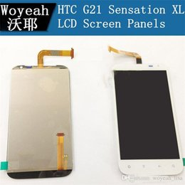 Wholesale Display Screen G21 - For HTC G21 Sensation XL Dropshipping Top quality LCD Display With Touch Screen Digitizer Assembly Free Shipping