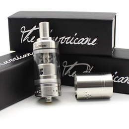 Wholesale Wholesale Hurricane - Hurricane RTA Switzerland Made e Cigarette RDA RBA Tank 304 Stainless Steel Material 3.5ml Hurricane Tank e Cigarette