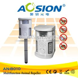 Wholesale Ultrasonic Mole - Wholesale-AN-B010-1 outdoor and indoor Multifunctional Ultrasonic animal repeller bird mole cat dog repellent pest control