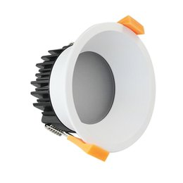 Wholesale Downlight Out - Ceiling light glare free 5w 6w 7w 8w 10w dimmable recessed deeply light source desgin led downlight cut out 70mm used in home