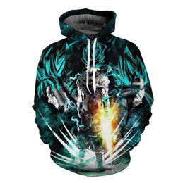 Wholesale Jacket Shopping - Dragon Ball Hoodies 3D Sweatshirts Men Tracksuits Fashion Casual Pullover Anime Hoodies Hooded Jackets Drop Shopping