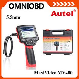 Wholesale Inspection Camera For Ship - 2016 Original Autel Maxivideo MV400 Digital Videoscope With 5.5mm Diameter Imager Head Inspection Camera Free Shipping