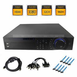 Wholesale Dvr Standalone Ch - 32 CH Channel Pro 800fps 960H CCTV Real-time Standalone DVR Surveillance PAL System HDMI