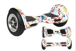 hoverboard scooter bluetooth Скидка Высокотехнологичный самокат колеса баланса 2 собственной личности батареи Самсунг электрический,с Автошиной 10 дюймов,для развлечений на открытом воздухе спорт