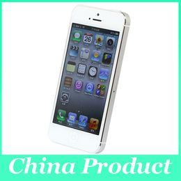 "Wholesale Dual Core 1ghz 3g - Original Apple iPhone 5 Unlocked Cell Phone 16GB 32GB ROM 1GB RAM Dual-core 1GHz IOS 8 8MP 1080P 4.0""IPS 3G WCDMA"