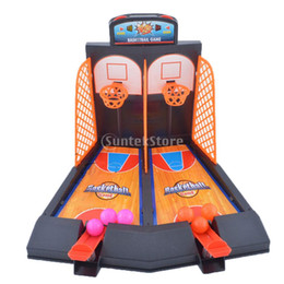 Wholesale Toys Basketball Board - Wholesale- Family Fun Board Game Toys Mini Basketball Shoot Game Finger Play for Kids