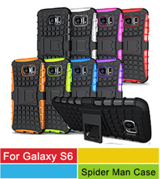 Wholesale Phone Case Hybrid Galaxy S4 - iPhone 6S Hybrid Cases,Heavy Duty Durable TPU+PC Hybrid Cell Phone Cases For Samsung Galaxy S6 Edge S5 S4 S3 Note 5 4 3 iPhone 6S 6 Plus 5S