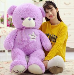 Wholesale Hot Women Toys - 2016 Hot Sale Lovely Bridestowe Lavender Heat Bear Stuffed Animals Plus Plush Toys Purple Lavender Wheat Bears children's women toy gift