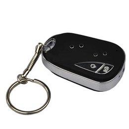 Wholesale Hide Key Camera - Hidden Car Key mini camera Remote Micro Camera Mini DV DVR keychain with 8GB