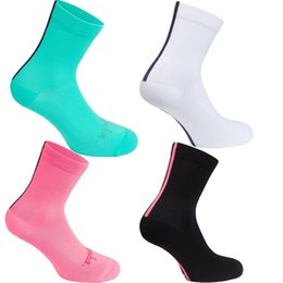 elbow pad socks Coupons - New Cycling Socks Men Women Professional Sports Breathable Road Bicycle Socks Mountain Bike Socks calcetines ciclismo