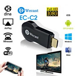 Wholesale Receiver Android - Miracast Wifi Android TV Stick Display Receiver TV Dongle Streaming Receiver 1080P Wireless Chromecast AirPlay DLNA