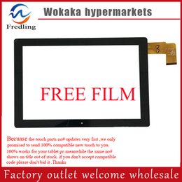 """Wholesale Touch Screen Chuwi Replacement - Wholesale- Free film+10.1"""" Touch Screen HSCTP-747-10.1-V0 for Chuwi Hi10 CW1515 Touch screen Digitizer Glass Touch Panel Glass Replacement"""