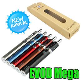 Evod genuíno on-line-100% Genuine Evod Mega Kit E cigarro Starter Kit Bobina Dupla 1900 mAh Bateria VS Subox Mini kits de arranque do ego DHL Livre