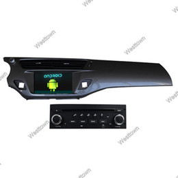 Wholesale Radio C3 - Car dvd gps bluetooth touch screen navigation car stereo wifi 3g dash for Citroen C3 2013 DS3