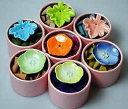 Pagoda de incienso aromático natural Perfume se adapta a las especias de interior Cono de incienso de sándalo con bandeja (aproximadamente 40 piezas / juego) desde fabricantes