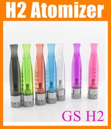 Wholesale Ce5 Cartomizer Tank - GS H2 atomizer GS H2 Clearomizer GS H2 tank gs-h2 Cartomizer Replace pk CE4 ce5 ce6 atomizer hummer h2 atomizer ego h2 mini h2 rda rba AT019