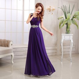 billige blaue braut magd kleider Rabatt Schönes Abschlussball-Kleid Neues Brauthochzeitskleid Rote hochwertige Abendkleider langes Kleid Abschlussballkleider 2015 Brautjunfer-Kleider