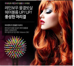 Wholesale Magic Cans - Free shipping 3 color Can Comb Magic Hair Brush Hair Salon Comb Rainbow Hairbrush Fashion Comb Anti-tangle Brush Massage 10pcs