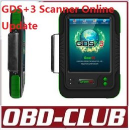 Wholesale Gds Kia - Update Online!!! Wholesale Original OEMSCAN GreenDS GDS+ 3 With Printers Covers 51 Cars &Trucks Better than witech scan tool