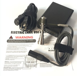 Wholesale Good Units - Electric d nail e cigarette digital e nail vaporizer kit dnail kit for dry herb smoking e-cigarette lowest unit price GOOD QUALITY