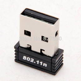 Wholesale Usb Wifi Chip - 100% Original RTL8188 chips Mini 150Mbps USB Wireless Network Card WiFi LAN Adapter Antenna 802.11n b g hot sale